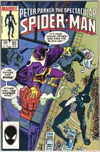 The Spectacular Spider-Man Comic Book #93 Marvel 1984 Very FINE/NEAR Mint Unread - $4.99