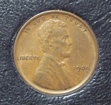1909 Lincoln Wheat Penny EF #0007 - $5.99