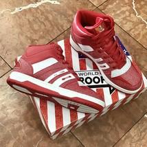 Men's Troop Ice Lamb Mid Red | White Sneakers - $69.00