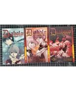 Diabolo 1 2 and 3 Kei Kusonoki and Kaoru Ohashi (Complete manga lot)  - $14.99