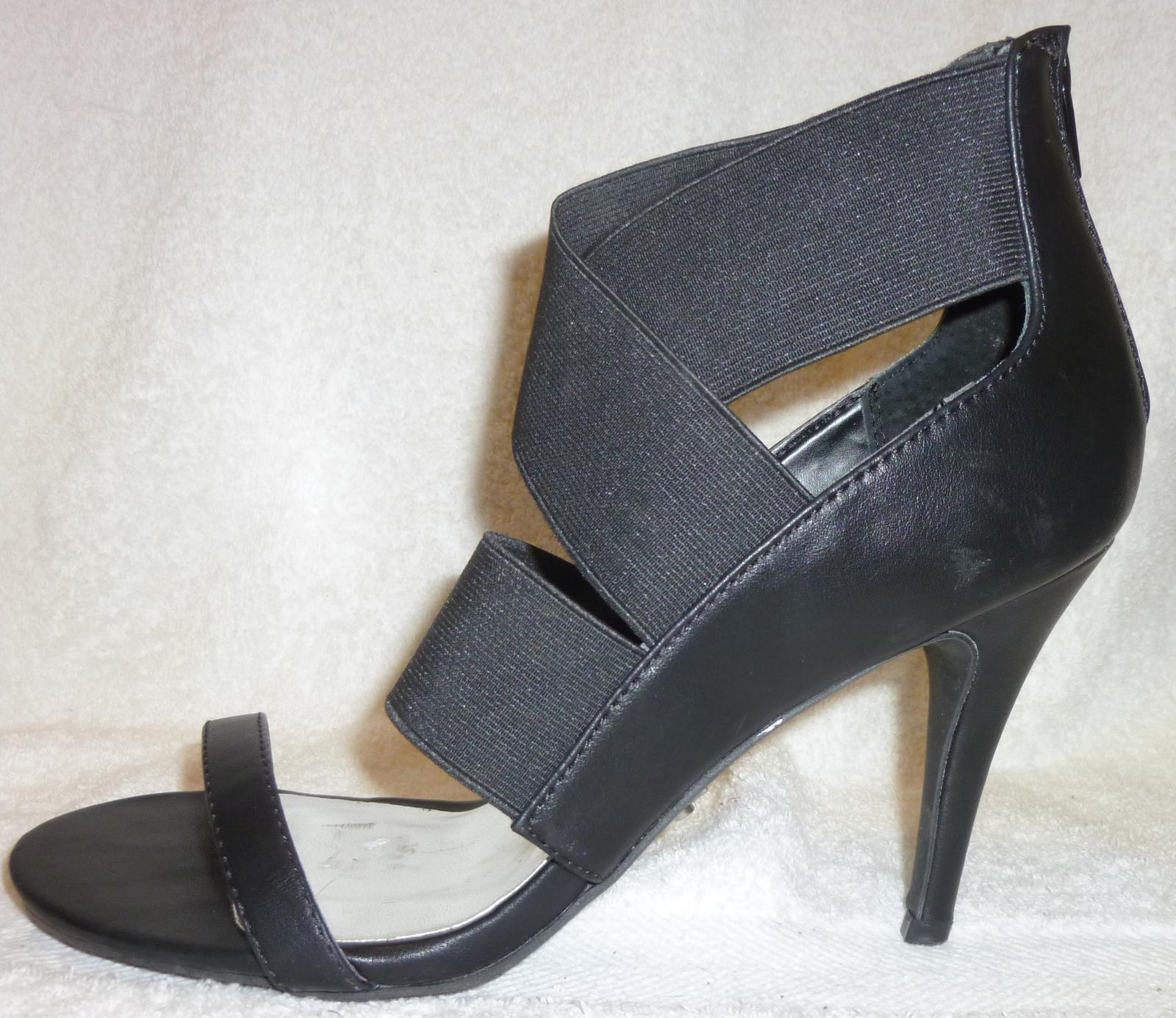 ad3fe977fbd Simply Vera by Vera Wang NEW Black Strappy High Heel Sandals 10 B -  17.99