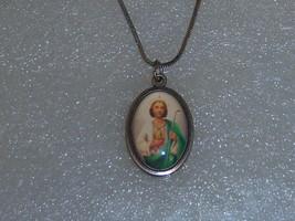 Vintage Catholic Pray For Us Necklace. - $15.00