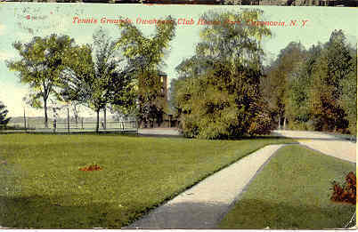 Primary image for The Tennis Club Cazenovia New York Vintage 1913 Post Card