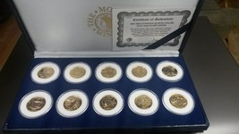 Gold Plated State Quarters Collection 2001-2002 Uncirculated Condition - $79.95