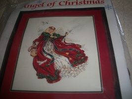 Angel of Christmas Cross Stitch Kit - $50.00