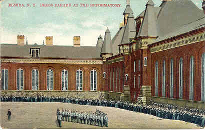 Primary image for Dress Parade at Reformatory Elmira New York Post Card