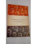 Patriotic Songs of America 1956 Booklet John Hancock Mutual - $5.00