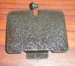 "Mason ""Wilson Rotary"" Rear Inspection Plate w/Mounting Screw Dk Brown Crinkle - $6.00"