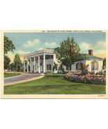 Bing Crosby Residence Hollywood Calif Vintage Post Card  - $5.00