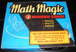 1957 Math Magic Game by Cadaco - $35.00