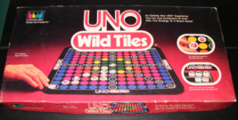1983 UNO Wild Tiles Board Game - $30.00