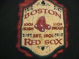 MLB Boston Red Sox Baseball Fan Graphic Print T Shirt L - $14.84