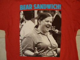 "Ripple Junction Bride's Maids Bridesmaids ""Bear Sandwich!"" Quote Red T S... - $15.83"