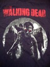 The Walking Dead Zombies TV Show Drama Black T Shirt M - $15.83