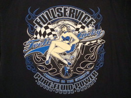 Full Service Feelin Feeling Lucky Pure Power Sexy Pin Up Motorcycles T S... - $16.82