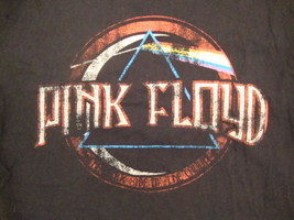 Converse One Star Pink Floyd The Dark Side of the Moon Cover Black T Shi... - $15.14