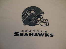 NFL Seattle Seahawks National Football League Fan White T Shirt M - $15.10