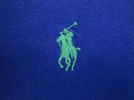 Ralph Lauren Polo Golf Golfing Blue Crew-Neck Designer Soft T Shirt M s - $14.84