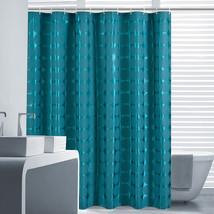 GIANTEX 180x180cm Dark Green Round Pattern Polyester Bathroom Waterproof Shower  - $34.59