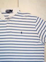 Ralph Lauren Polo Golf Golfing Striped Collar T Shirt 2XL - $16.82