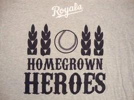 MLB Kansas City KC Royals Baseball Home Grown Heroes Kia  T Shirt XL - $14.84