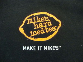 Mike's Hard Iced Tea Can Beat Up Your Iced Tea Beer Liquor Print T Shirt L - $15.83
