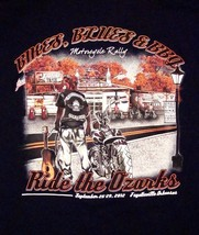 The Cathouse Lounge Pied Piper Pub Motorcycle Rally Eureka Springs T Shi... - $14.84
