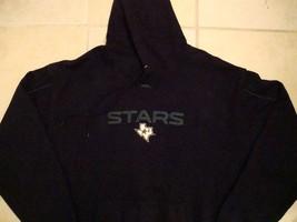 Dallas Stars Hockey NHL Texas Black Pocket Hoodie Hooded Sweatshirt XL - $24.74
