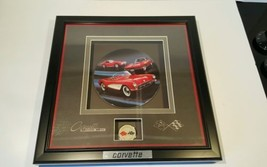 Knowles Chevrolet Corvette Stingray Limited Edition plate plaque with en... - $49.49