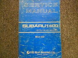 1975 Subaru 1400 Service Repair Shop Manual Factory Oem Book 75 - $29.65