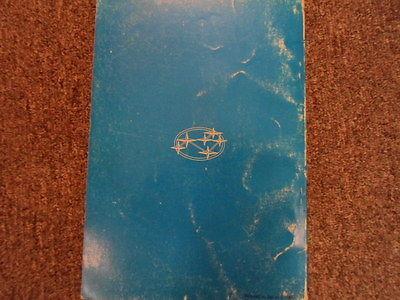 1970 Subaru 1300 Emission Control Service Repair Shop Manual FACTORY OEM BOOK 71