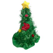 Dan Dee Christmas Tree Hat Animated Musical Sings We Wish You A Merry Ch... - $18.52