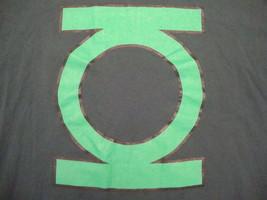 DC Comics Green Lantern Superhero Comic Book Hunter Green T Shirt 2XL - $13.85