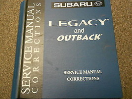 2002 Subaru Legacy Service Repair Shop Manual Corrections FACTORY OEM BOOK 02 - $39.56