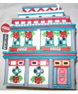 COCA COLA TOWN SQUARE COLLECTION MOE'S CAFE PORCELAIN 1998 FREE SHIP USA - $25.72