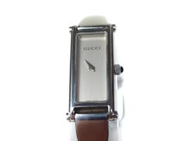 Auth GUCCI 1500L Silver Dial STAINLESS STEEL Women's Quartz Watch GW11672L - $250.78 CAD