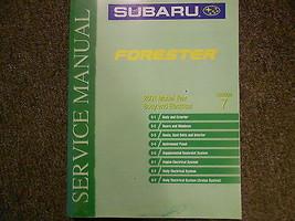 2001 Subaru Forester Body Electrical Section 7 Service Repair Shop Manual OEM 01 - $39.56