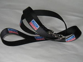 Ford Trucks New Dog Leash Nylon Seat Belt Buckle Material Black Made in USA - $19.59
