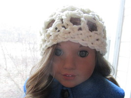 Handmade Crochet Hat/Beanie for American Girl/18 Inch Doll - $3.25
