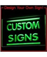 Design your own neon personalized sign home businesss man cave  - $36.99