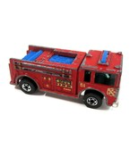 Vintage 1977 Mattel Hot Wheels Red Fire Eater Fire Engine Truck 9640 - H... - $9.99