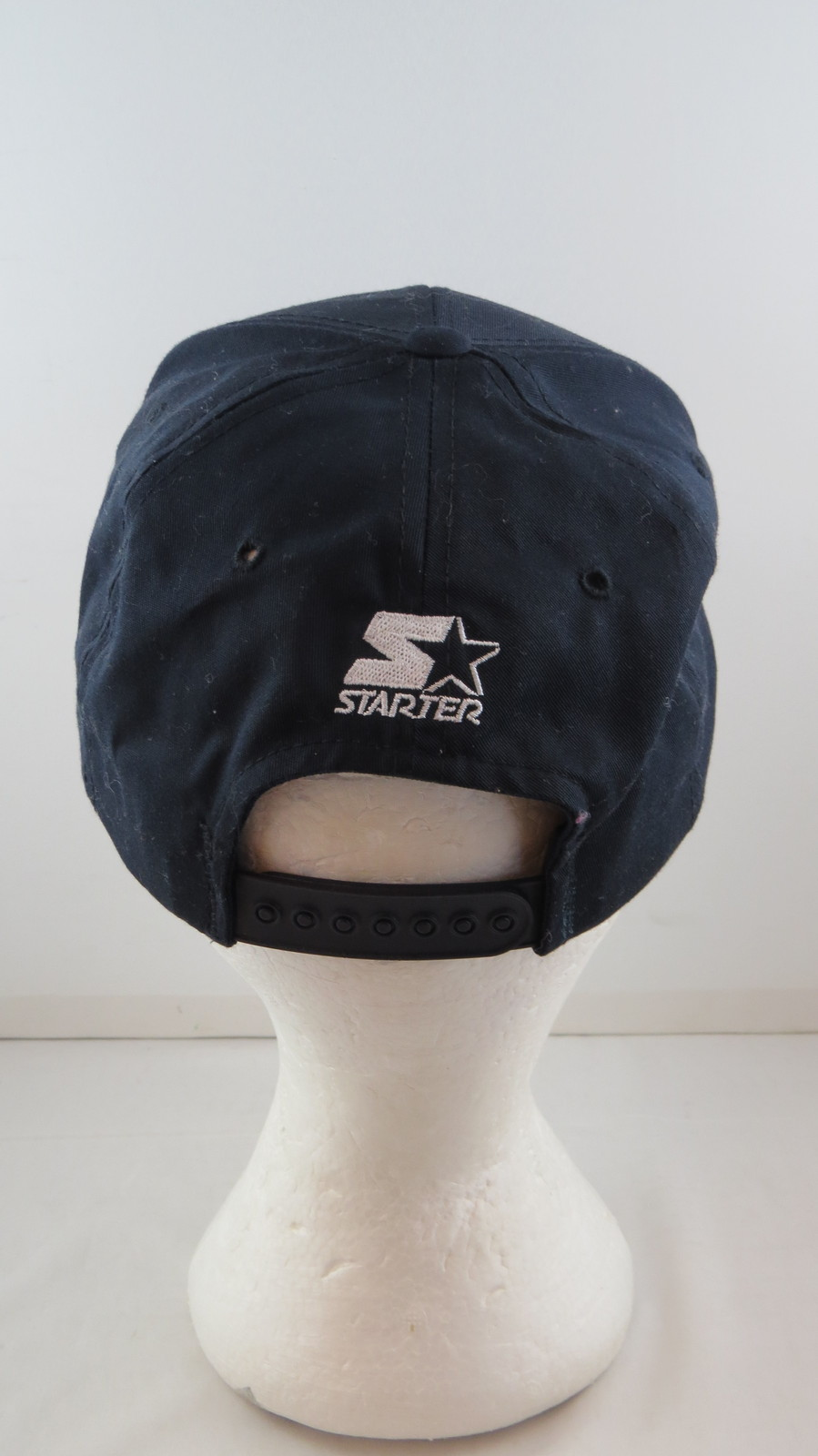 13074b03e195aa Vancouver Canucks Hat (VTG) - All Black with Orca Logo - By Starter -