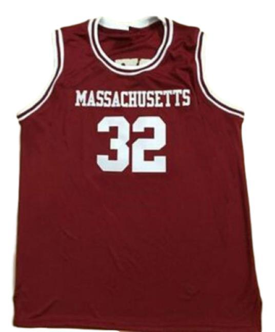 Julius erving college basketball jersey maroon   1