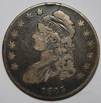 1835 Capped Bust Half Dollar 50¢ Coin Lot# MZ 4339