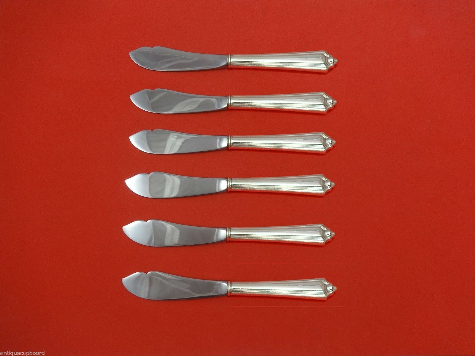 PLYMOUTH-GORHAM STERLING COCKTAIL FORK S