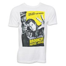 New Brooklyn Nine-Nine TV Poster Adult Medium T-shirt Funny Samberg - $11.87