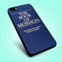 The Book Of Mormon Cover iPhone 4 4S 5 5S 5C 6 Samsung Galaxy S3 S4 S5 Case - $12.99