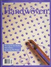 Handwoven magazine mar/apr 1993 - MOCK DAMASK, POPPANA - $5.93