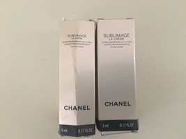 Chanel Sublimage La Creme Ultimate Skin Regeneration Texture Supreme sam... - $21.77