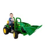 Ground Load Tractor 12 Vlt Battery Power Ride O... - $384.55